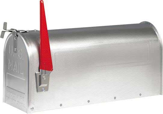 Stützpfosten schwarz 1500mm zu U.S. Mailbox BurgWächter Bild 2