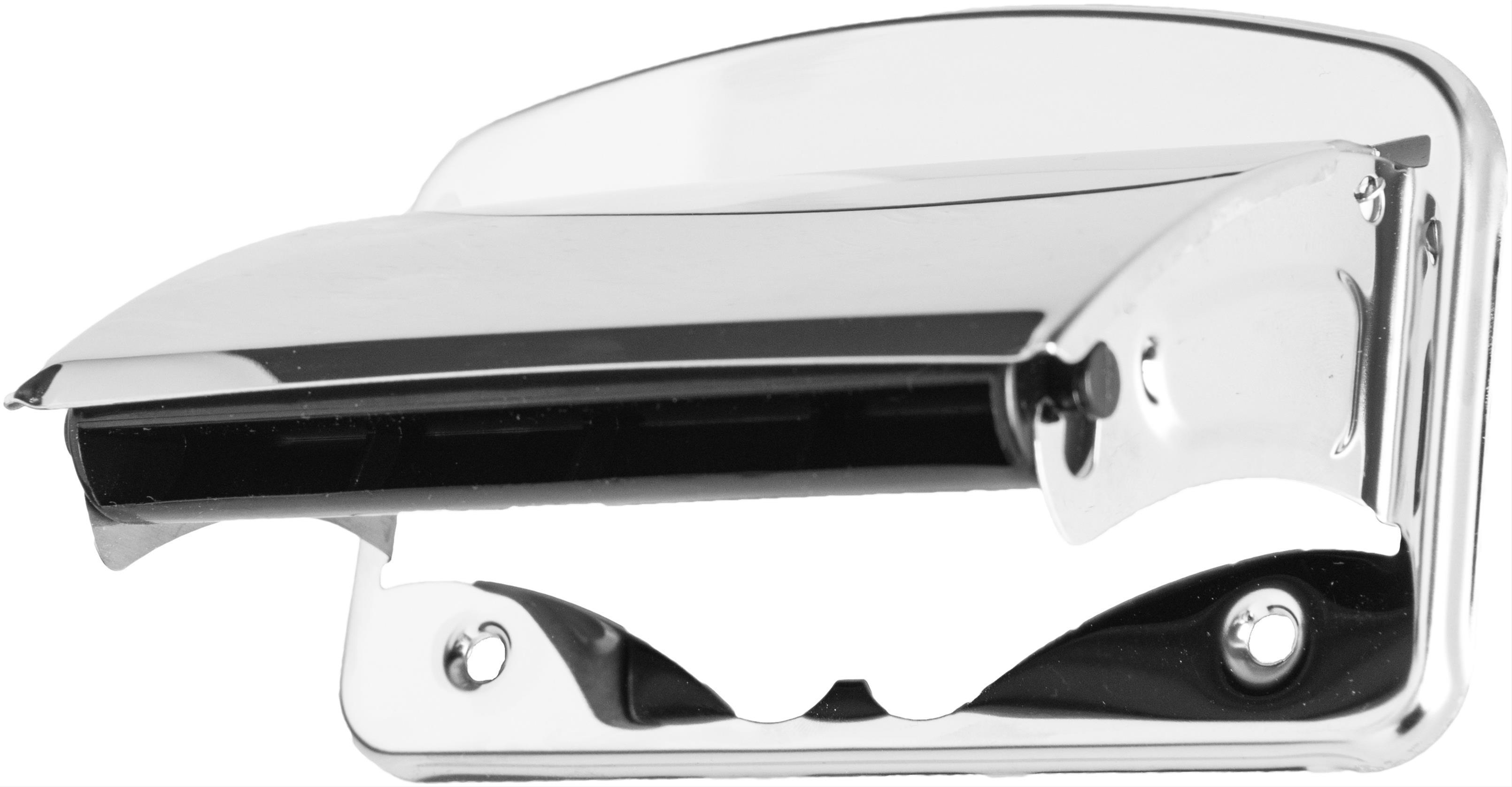 Papierhalter mit Deckel chrom Bild 1
