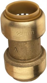 Steck-Schiebemuffe 15mm Bild 1