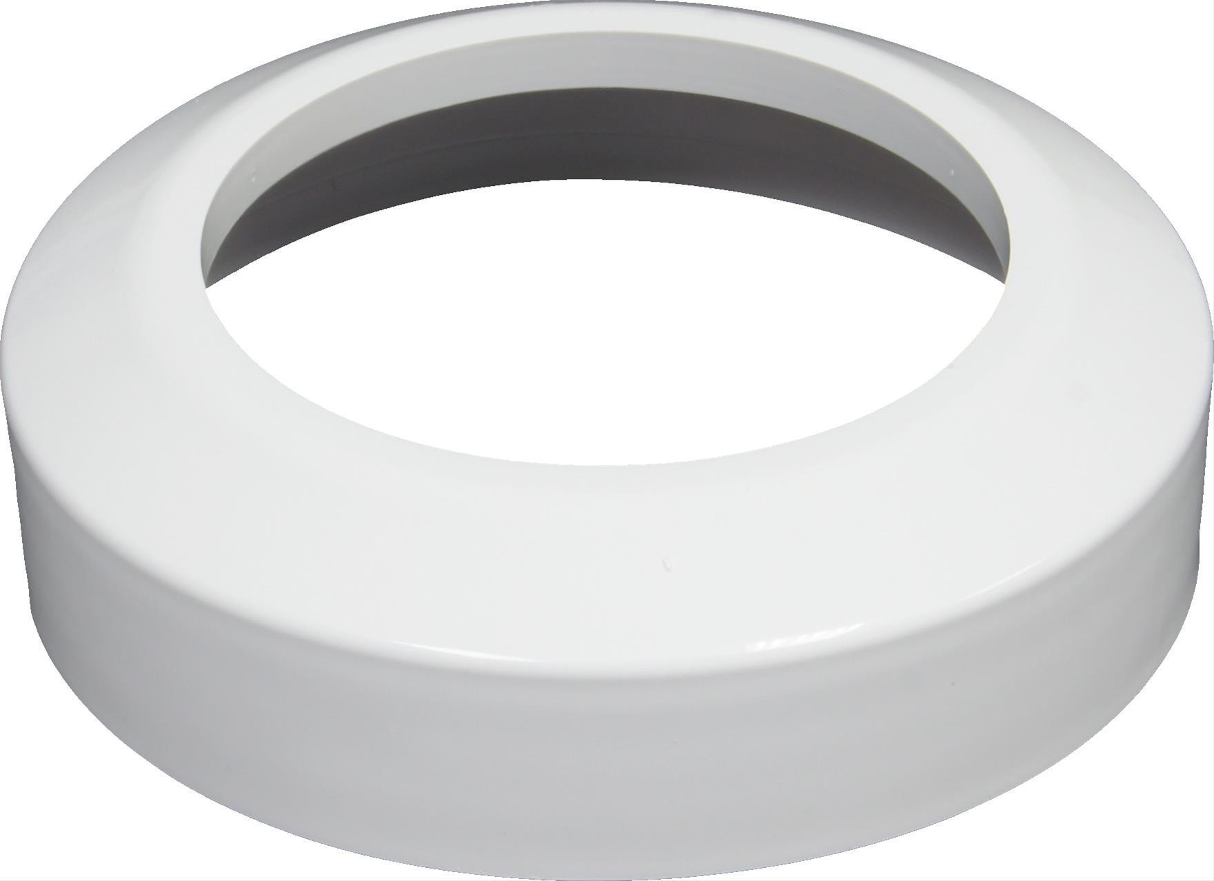 WC-Rosette 110mm Kunstst. weiß Bild 1