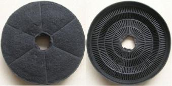 Respekta Aktiv-Kohlefilter MIZ 0023N für Dunstabzugshauben 2 Stück