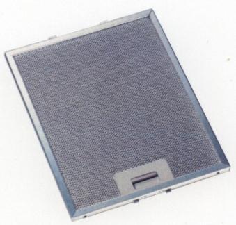 Respekta Metallfettfilter MIZ 2009 für Dunstabzugshauben 2 Stück