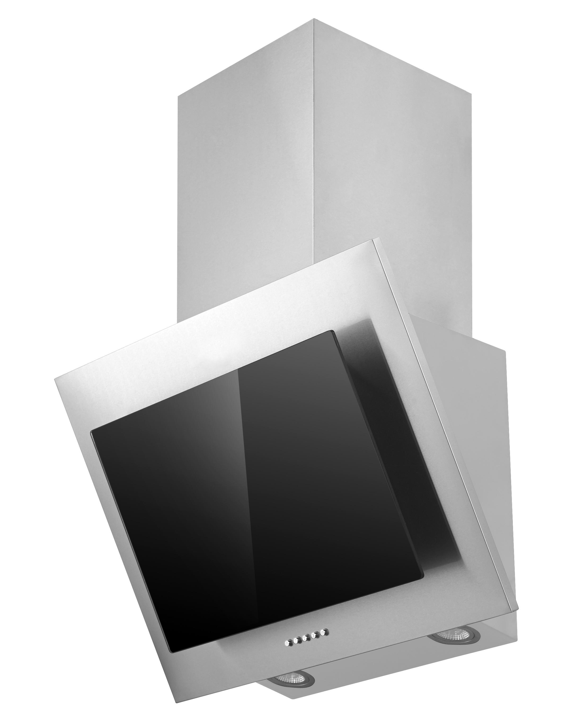 Dunstabzugshaube / Schräghaube Respekta CH 2060 SB 60cm Glas schwarz Bild 1