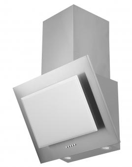 Dunstabzugshaube / Schräghaube Respekta CH 2060 SB 60cm Glas weiß Bild 1