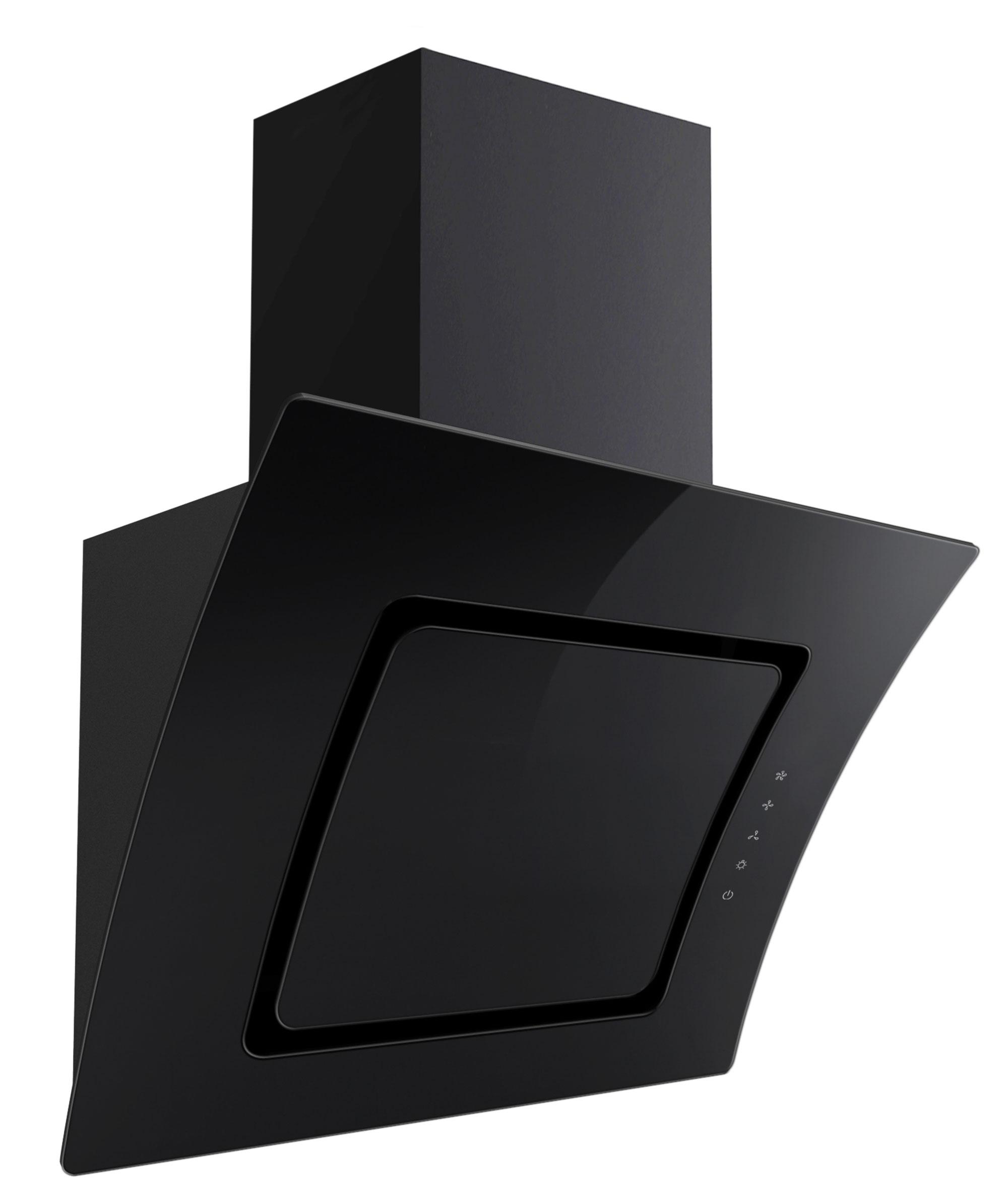 Dunstabzugshaube / Schräghaube Respekta CH 55060 SA 60cm schwarz Bild 2