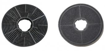 Respekta Aktiv-Kohlefilter MIZ 0058 für Dunstabzugshauben 2 Stück