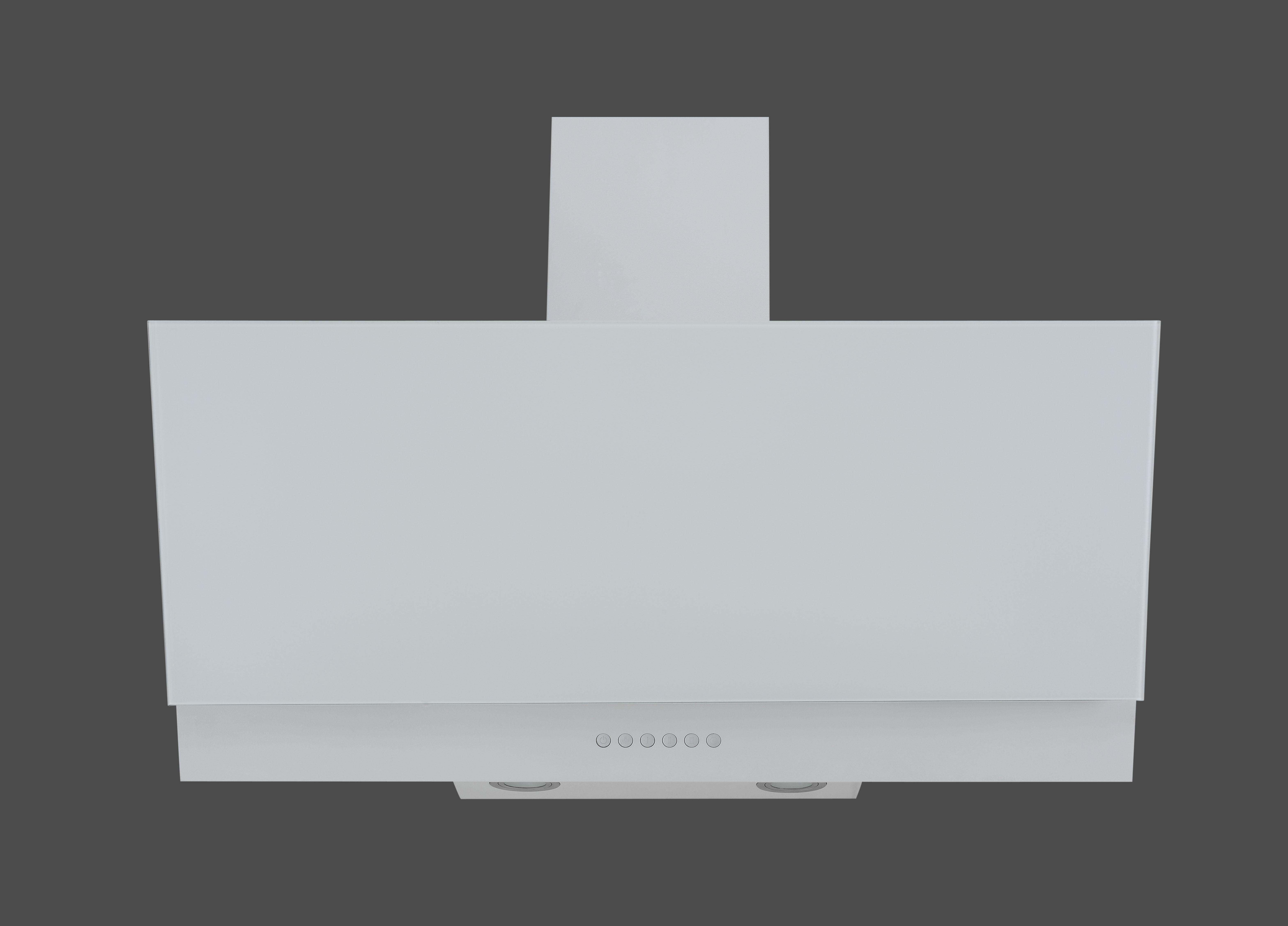 Dunstabzugshaube / Schräghaube Respekta CH 66038 90 W 90x41,8cm weiß Bild 2