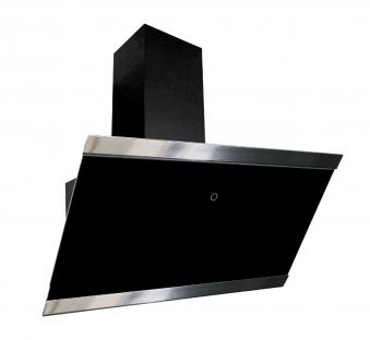 Dunstabzugshaube / Schräghaube Respekta CH 88090 SA+ 90cm schwarz Bild 1