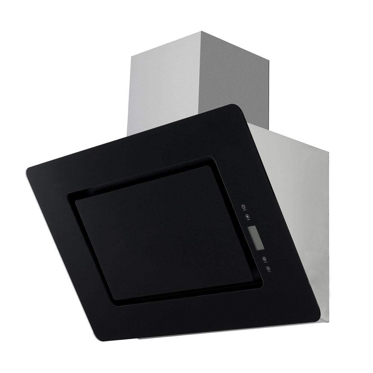 Dunstabzugshaube / Schräghaube Respekta CH 99040-90 S 90x42cm schwarz Bild 1