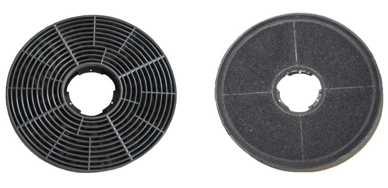 Respekta Aktiv-Kohlefilter MIZ 0058 für Dunstabzugshauben 2 Stück Bild 1