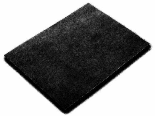 Respekta Kohlefiltermatte MI 150 K für Dunstabzugshauben 2 Stück Bild 1