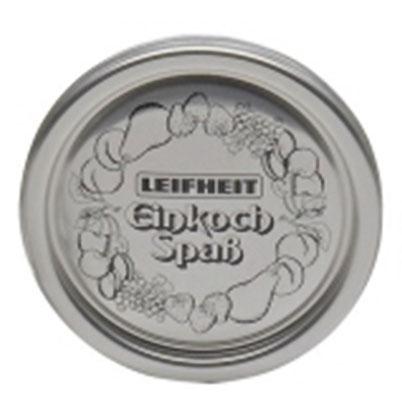 Innendeckel für Einkochglas / Marmeladenglas Leifheit 12 Stück Bild 1
