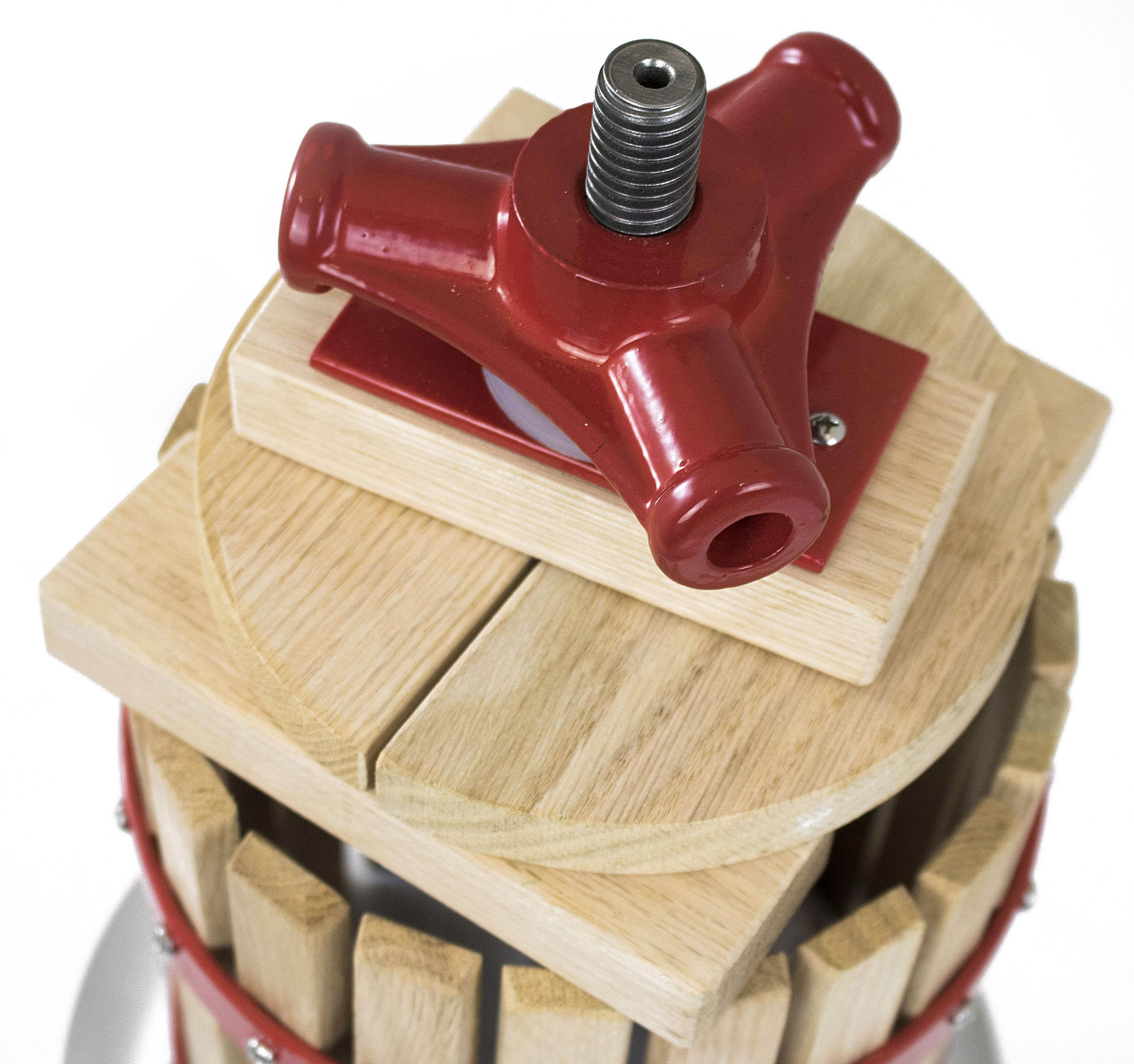 Güde Obstpresse / Beerenpresse OP 6 Holz 6 Liter Bild 2