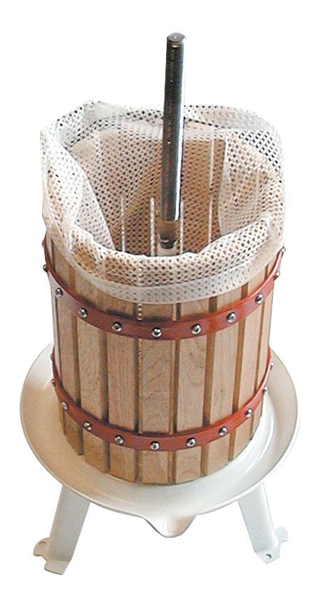 Güde Obstpresse / Beerenpresse OP 6 Holz 6 Liter Bild 3