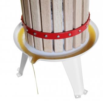 Güde Obstpresse / Beerenpresse OP 6 Holz 6 Liter Bild 5