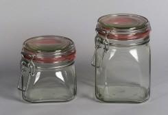 Drahtbügelglas 900 ml Einmachglas Bild 1