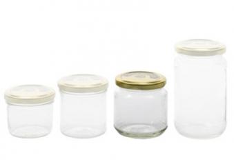 Einkochglas / Einmachglas mit Twist-Off-Deckel 220 ml Bild 1