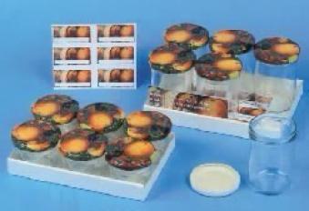 Einkochglas / Marmeladenglas 230 ml 6 Stück Bild 1
