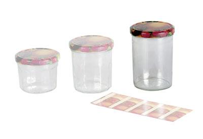 Einkochglas / Marmeladenglas mit Deckel 440 ml 6 Stück Bild 1