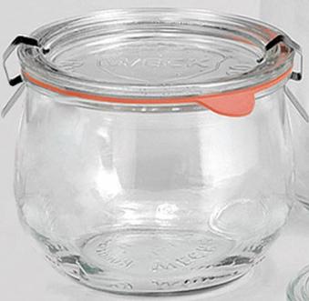 Einmachglas / Einkochglas 0,5 L WECK 4er-Pack Bild 1