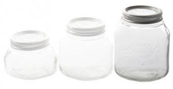 Einmachglas / Einkochglas 1 L Leifheit Bild 1
