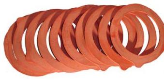 Gummiringe / Einkochringe 65x90mm für Durand Luminac Einmachglas