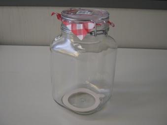 Einmachglas / Einkochglas Durand 2 Liter Bild 2