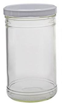 Einmachglas / Einkochglas Emsy mit Deckel 1050 ml zylindrisch Bild 1