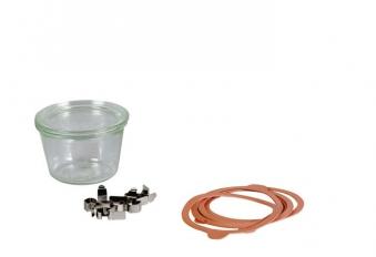 Einmachglas / Einkochglas / Sturzglas Weck à 250 ml 4 Stück Bild 1