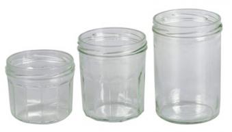 Einmachglas / Einkochglas / Sturzglas ohne Deckel 440 ml Bild 1