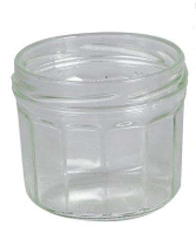 Einmachglas / Facettenglas / Sturzglas ohne Deckel 240 ml Bild 1