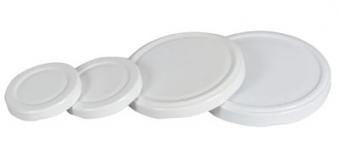 Twist-Off-Deckel / Schraubglas Deckel 58 mm weiß