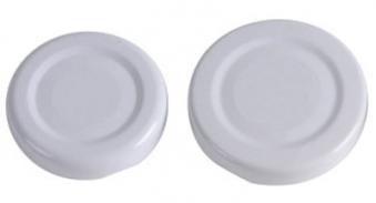 Twist-Off-Deckel / Schraubglas Deckel 43 mm weiß