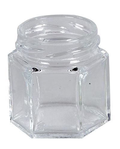 einmachglas marmeledenglas sechseckig ohne deckel 47 ml. Black Bedroom Furniture Sets. Home Design Ideas