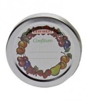 Deckel für Einkochglas / Marmeladenglas Leifheit 10 Stück