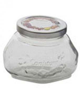 Marmeladenglas / Gelee-Glas Leifheit 0,25 L mit Schraubdeckel Bild 1
