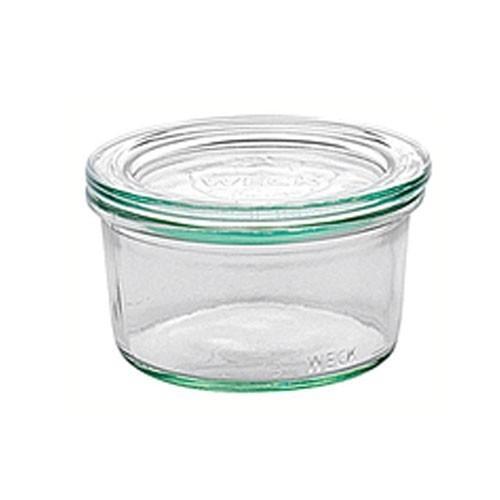 Weck Einkochglas Sturzform Vor-und Nachspeisen Set 12 Stück Bild 1