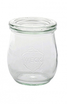 Weck Einmachglas Tulpenglas für Vor-und Nachspeisen Bild 1
