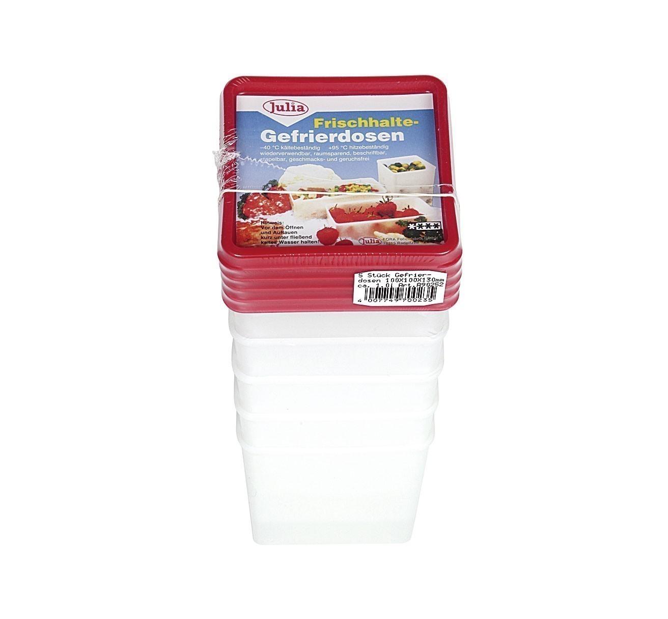 Frischhaltedosen / Gefrierdosen sia 1 L 5 Stück Bild 1