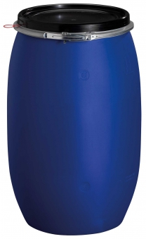 Maischefass / Maischbehälter 120 Liter blau Bild 1