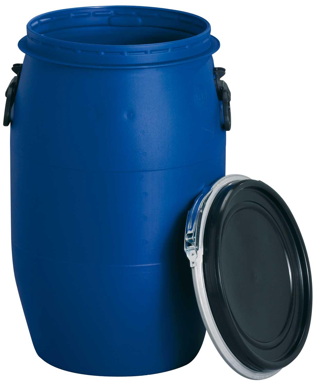 Maischefass / Maischebehälter 60 Liter blau Bild 1