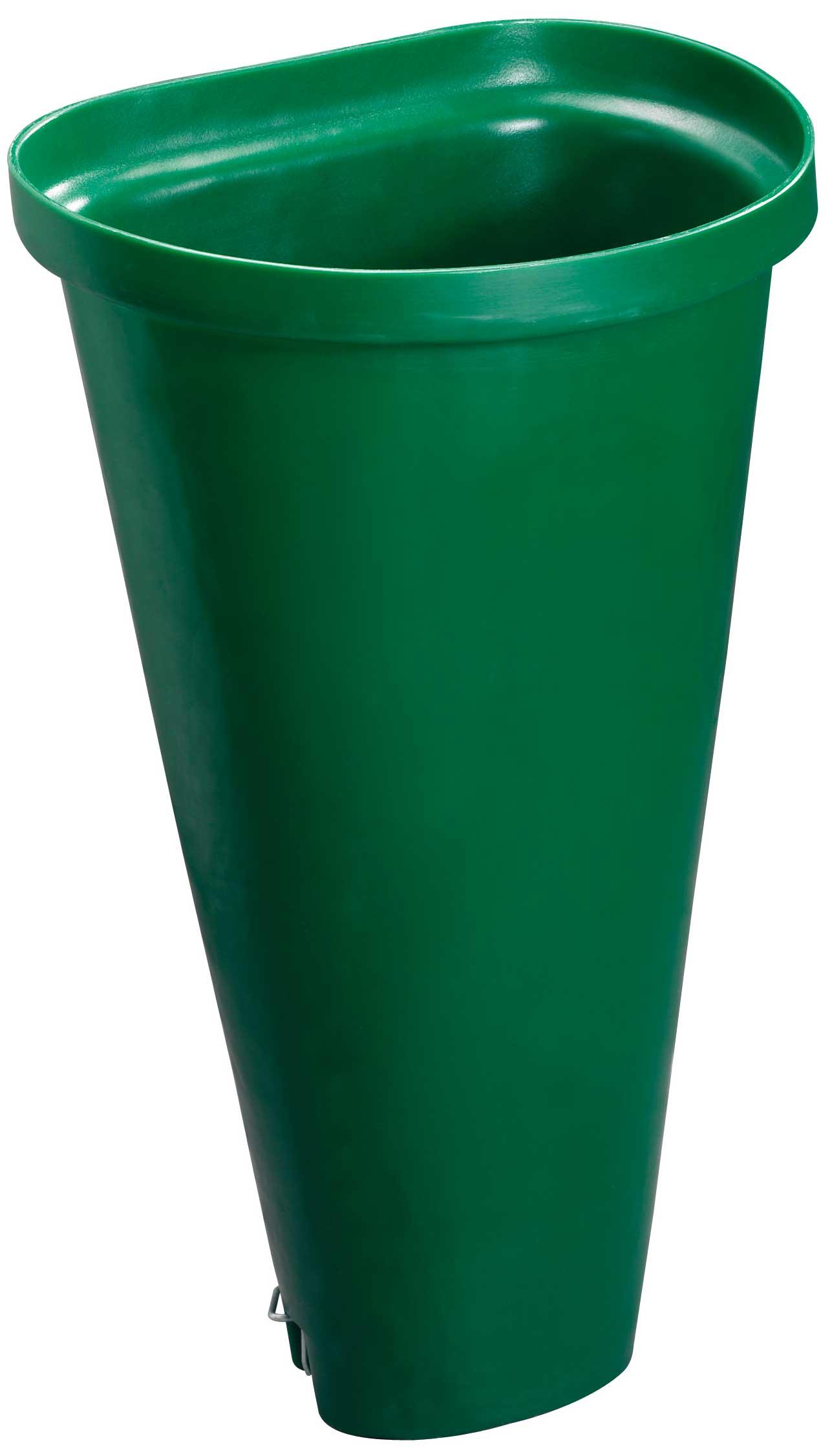 """Tragebütte / Weinlese Bütte """"Jugend"""" 50 Liter Kunststoff grün Bild 1"""