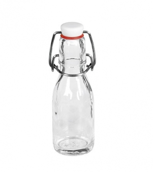 Glasflasche / Glasbügelflasche 100 ml Bild 1