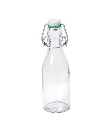 Glasflasche / Glasbügelflasche 200ml Bild 1