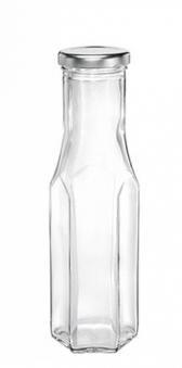 Glasflasche / Sechskantflasche 256 ml Leifheit Bild 1