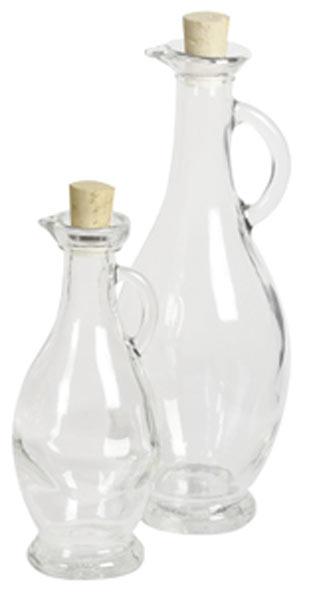 Glasflasche / Spirituosenflasche Egizia 250 ml Bild 1