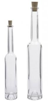 Glasflasche / Spirituosenflasche Platina 200 ml Bild 1