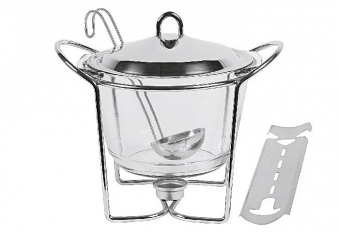 Feuerzangenbowle Edelstahl Hot Pot Bild 1