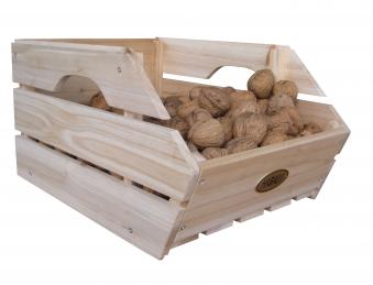 Obstkiste / Gemüsekiste / Lebensmittelkiste Habau 3-er Set stapelbar Bild 4