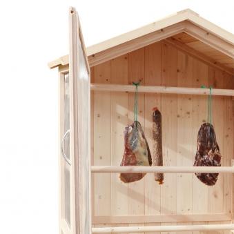 Trocknungsschrank / Gartenschrank Habau Holz-Gaze 86x50x165cm Bild 5